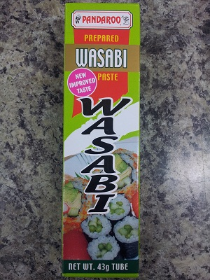 Pandaroo Wasabi Paste - prepared