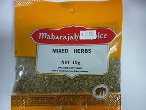 Mixed Herbs - dried