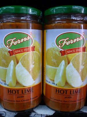 Fern's Hot Lime Pickle