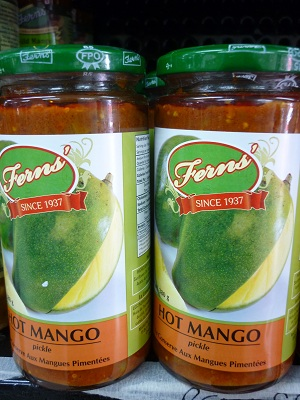 Fern's Hot Mango Pickle