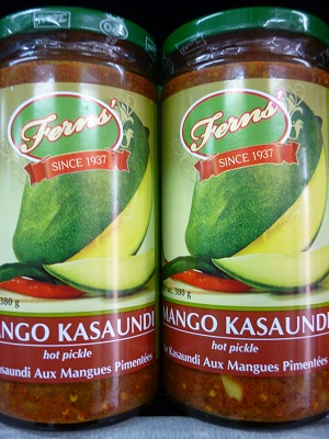 Fern's Hot Mango Kasaundi
