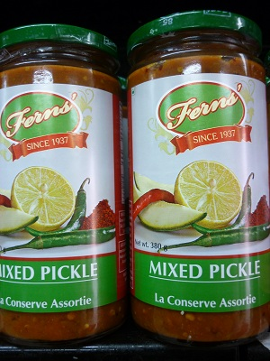 Fern's Mixed Pickle