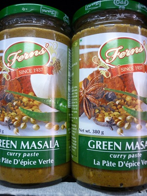 Fern's Green Masala Curry Paste