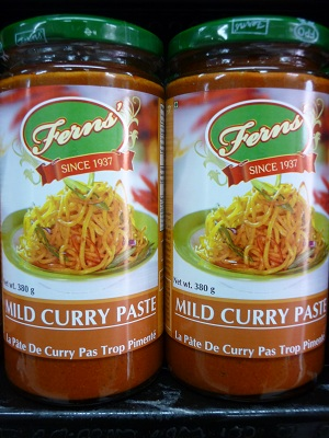 Fern's Mild Curry Paste