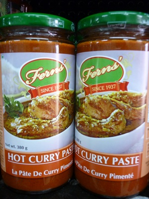 Fern's Hot Curry Paste