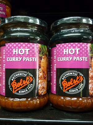 Bolst's Hot Curry Paste