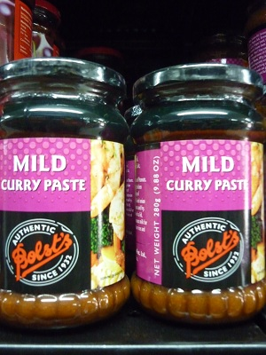 Bolst's Mild Curry Paste