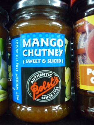 Bolst's Mango Chutney Sweet and Sliced