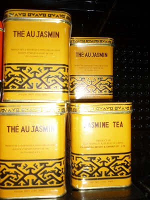 The Au Jasmine Tea - Yellow Tin