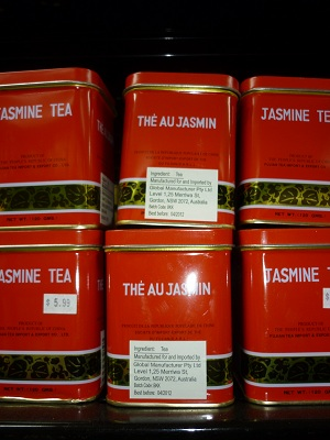 The Au Jasmine Tea - Red Tin