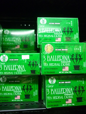 3 Ballerina Tea Herbal Tea Extra Strength