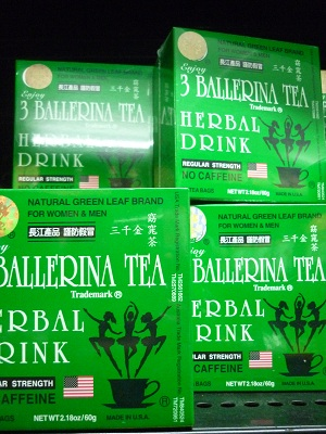 3 Ballerina Tea Herbal Tea Regular Strength