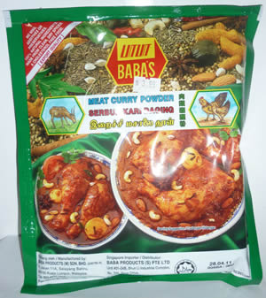 Baba's Curry Powder for Meat