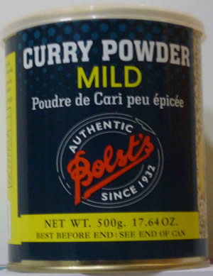 Bolst's Curry Powder - Mild