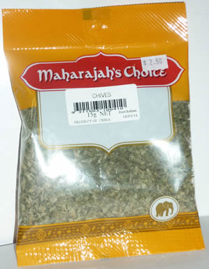 Dried Herb Chives