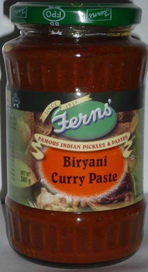 Fern's Biryani Curry Paste